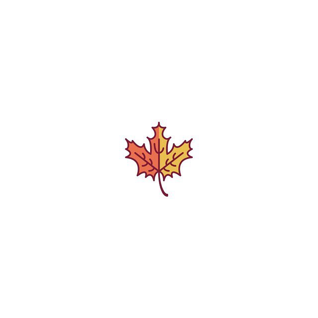 One of my favorite things in life is when the leaves 🍁 change colors!! Who else LOVES Autumn?! #icondesign #autumnleaves🍂 #fallisthebest