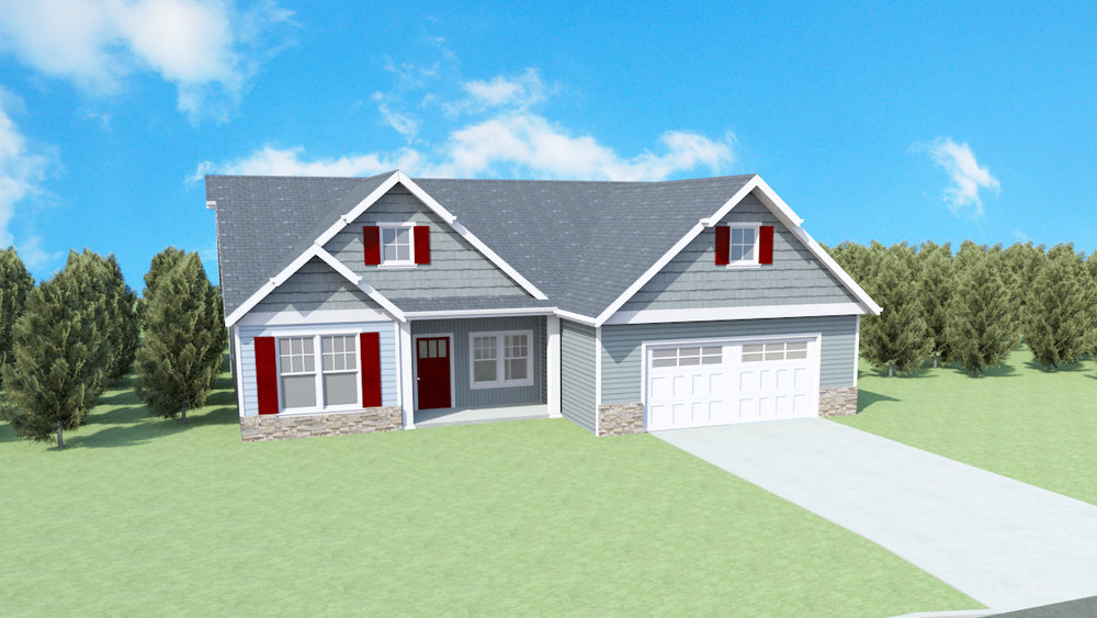 The Alexandra Plan   Finishable SQ FT: 2465