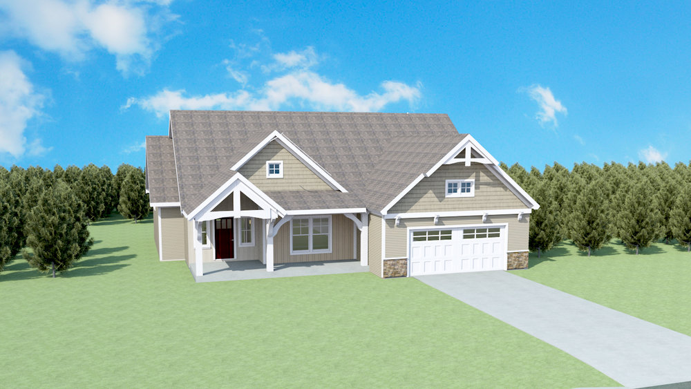 The Bella Plan   Finishable SQ FT: 3249