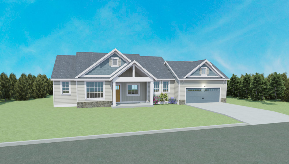 The Beverly Plan   Finishable SQ FT: 2345
