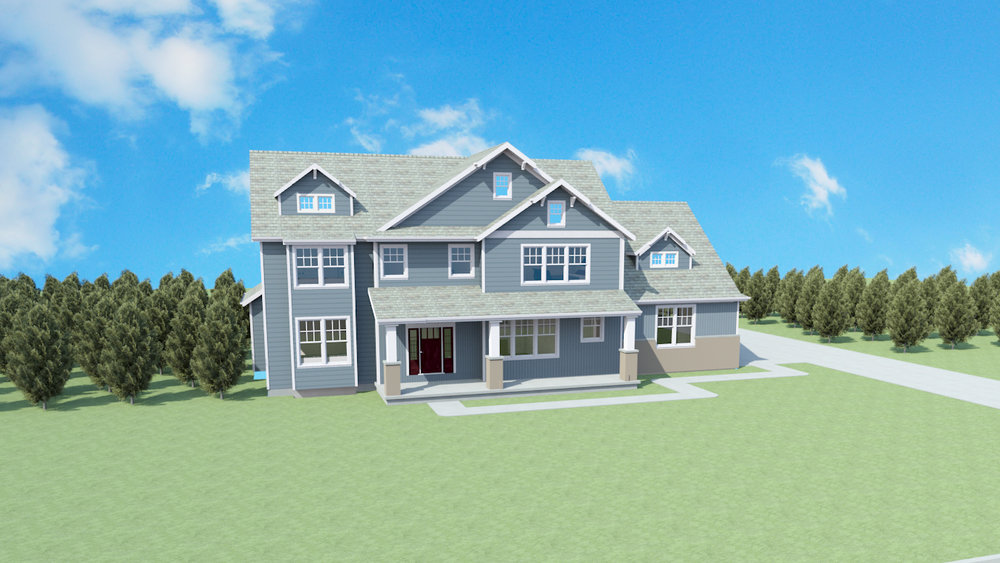 The Watercrest Plan   Finishable SQ FT:
