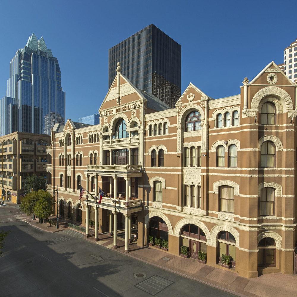 Driskill hotel in Austin