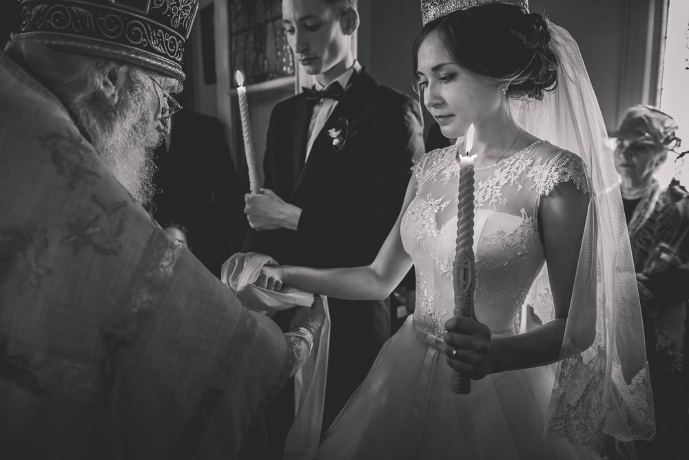 church weddings - russian orthodox ceremony {Auckland wedding photographer}