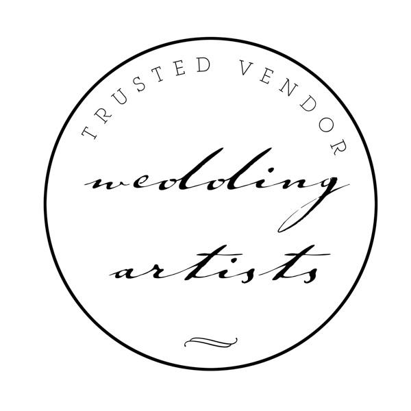 trusted vendor - Wedding Artists