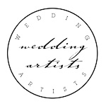 wedding artists badge