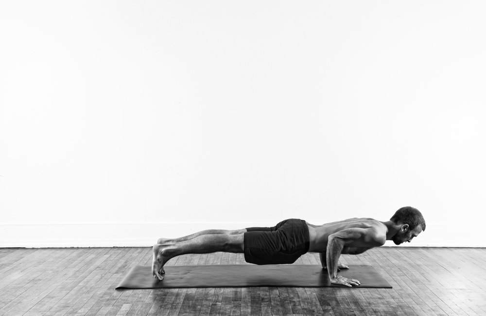 Yoga Push-up / Chaturanga Dandasana