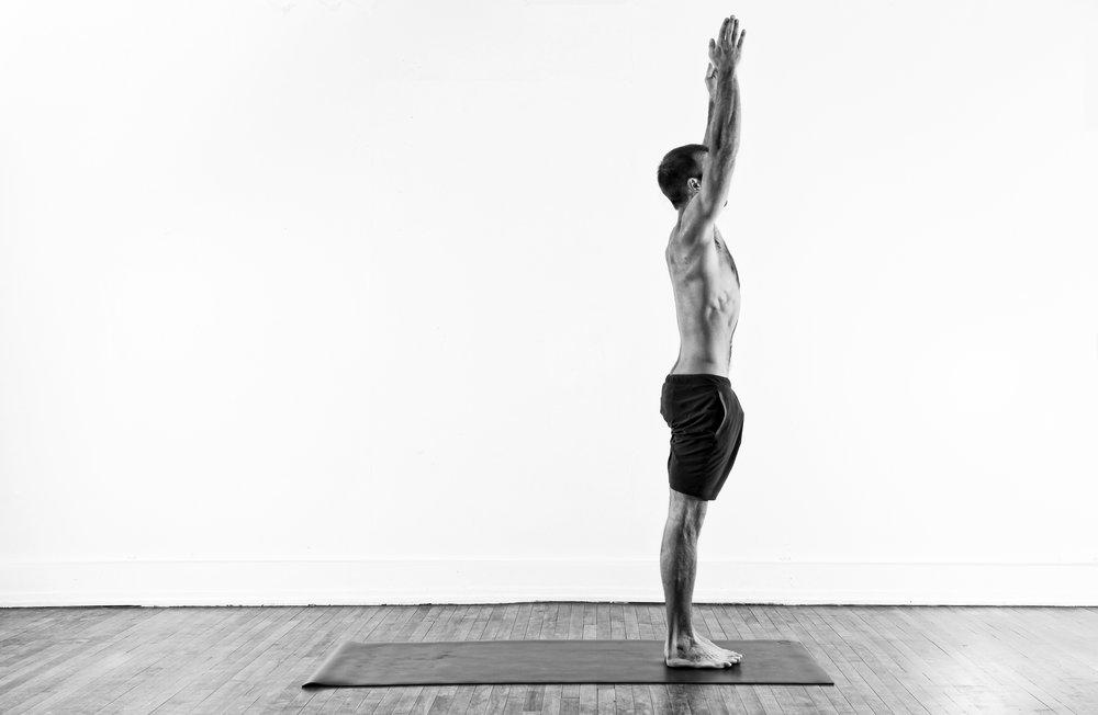 Standing Reach / Urdhva Hastasana