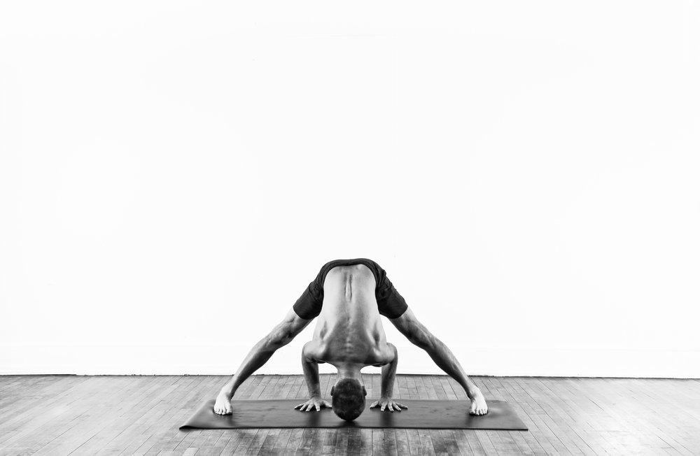 Wide Legged Forward Fold / Prasarita Padottanasana A