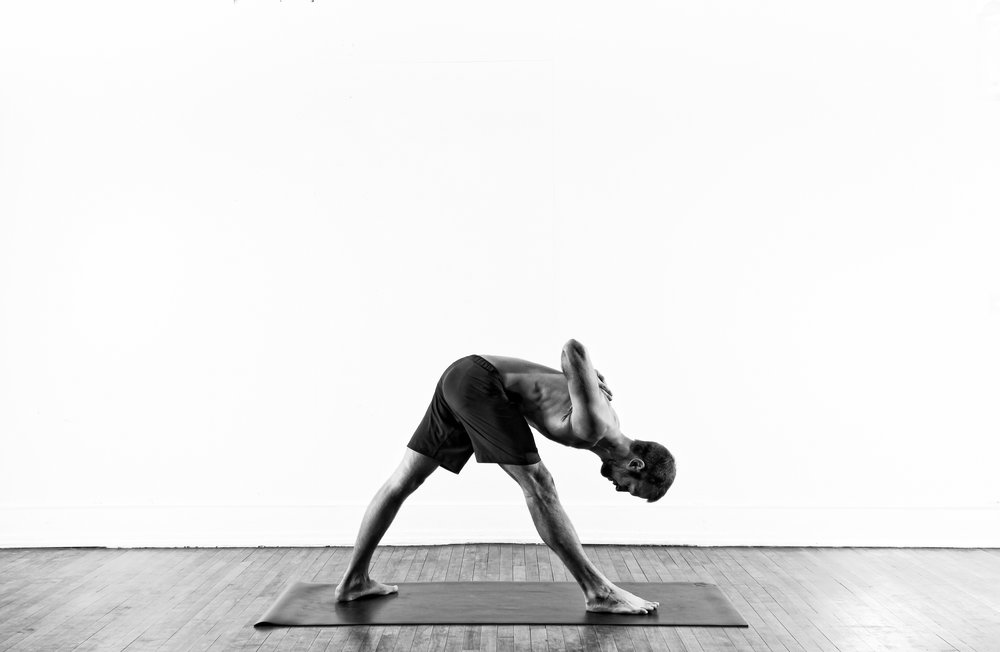 One Sided Fold / Parsvottanasana