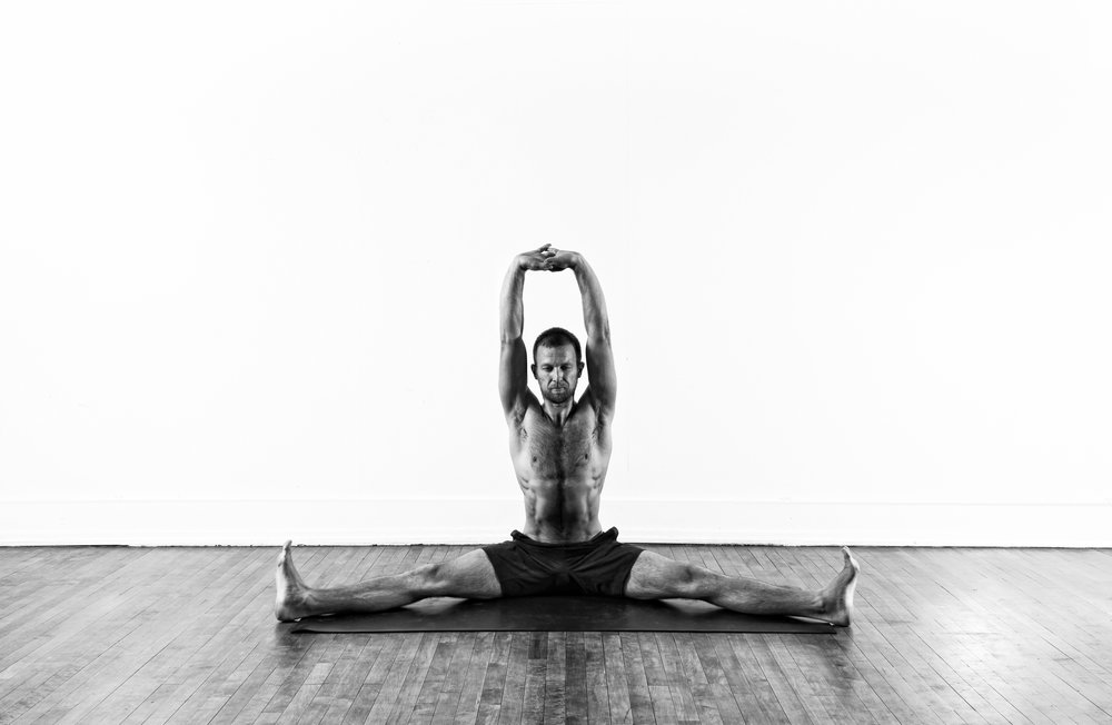 Spread Legged Seated / Upavistha Konasana var.