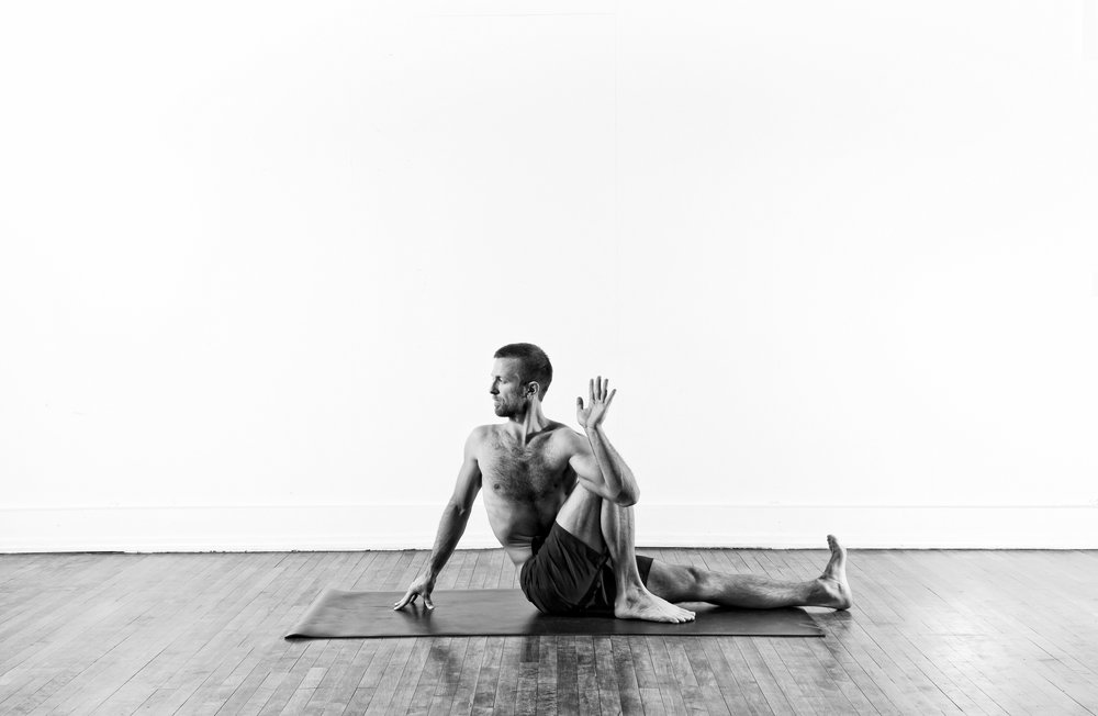 Seated Twist / Marichyasana 3