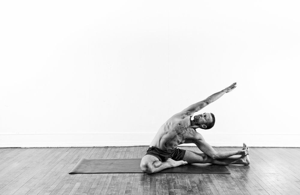 Revolved Head to Knee / Parivrrta Janu Sirsasana