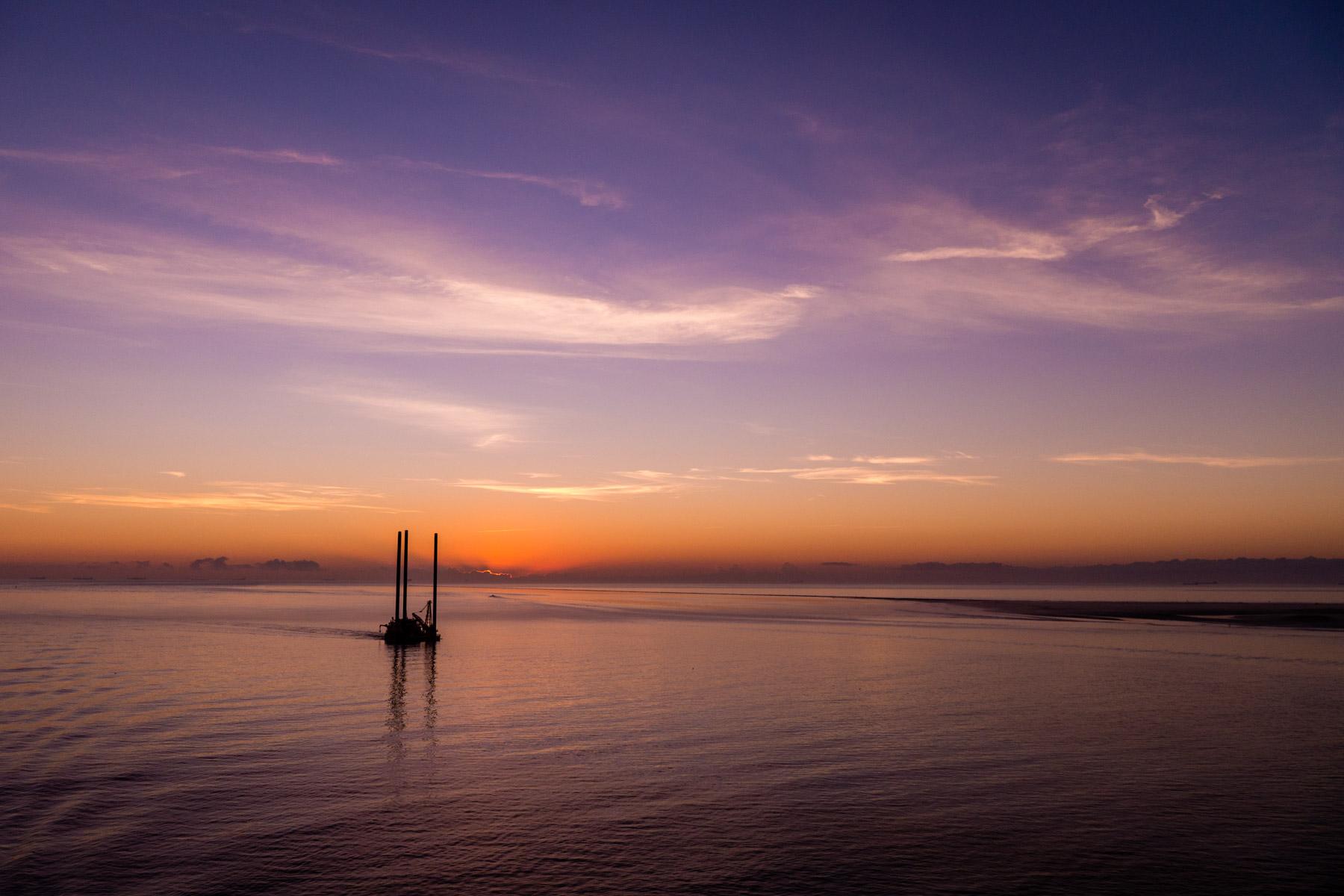 The Liftboat at Sunrise