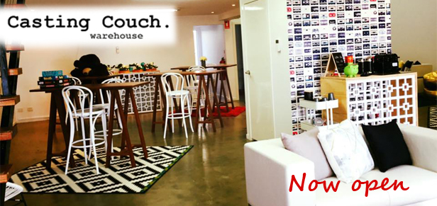 The Casting Couch is a co working space designed just for the unique creative folk of the events industry. Businesses who cater for corporate, incentive and conference events around Australia. Consider The Casting Couch your permanent trade show space, your Brisbane address, a place for you to meet with clients and let them see, feel and experience your wares. Meet them on site and utilise our small boardroom for the more serious meetings, or maybe just enjoy our laid back lounge area complete with coffee machine and kitchenette facilities. Co working spaces are the burgeoning trend for creatives, small business and corporate innovators.  The Casting Couch is the only co working space specifically tailored for event industry people. The Casting Couch creates an area for like minded, energised MICE'ers to collaborate and share a thought or simply enjoy the energy of cohabitation with other individuals. The whole idea of co working is to bring bright, creative people together and let the ideas collide.