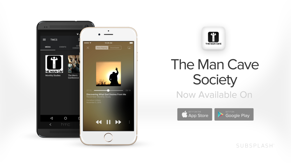 Want to stay up-to-date with The Man Cave Society? Simply download our FREE app today to your smartphone or tablet.