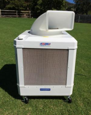 Oscillating Evaporative Cooling Unit.