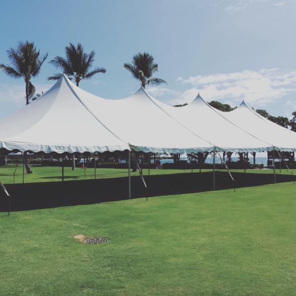 Big Island Tents & White Tent u2014 Big Island Tents