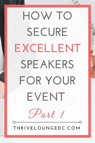 excellent speakers