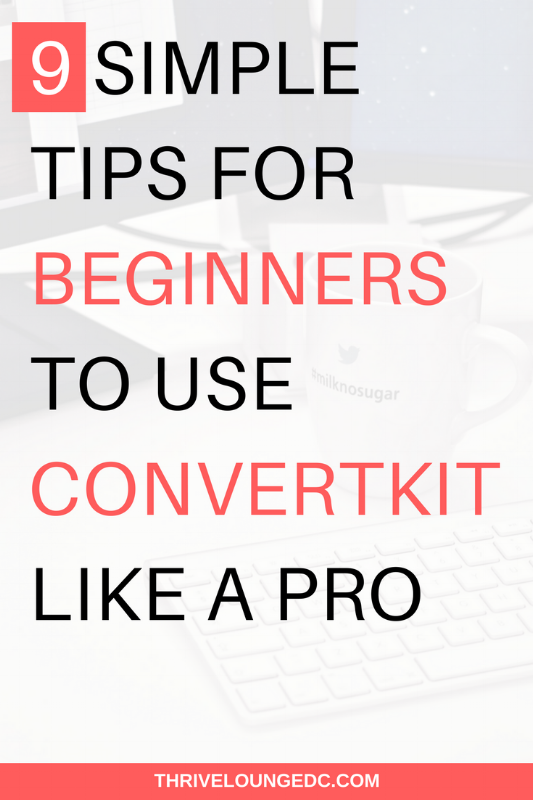 convertkit for beginners