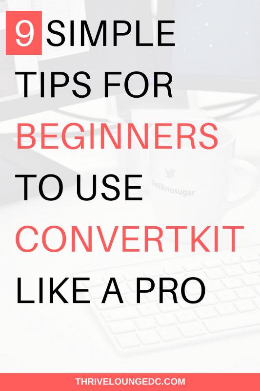 convertkit for beginners