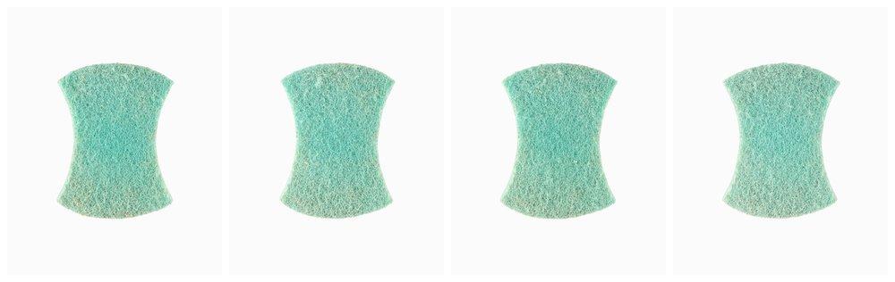 Scourer 01~04, Digital Pigment Print, 39 x 32 cm, 2016