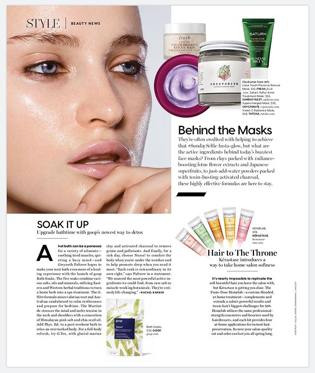 ⚡️BEAUTY NEWS 👀 • • • @dujourmedia • #newproducts #crystonitemask #skincare #bestof #beauty #beautyproducts #clearskin #crystonitesuperchargedmask #allnatural #gemstones