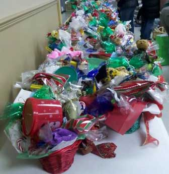 Gift baskets for childcare workers
