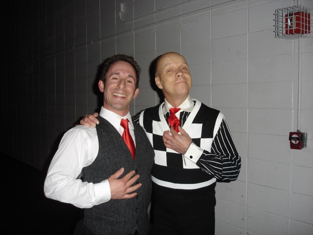 Performing with Scott Hamilton