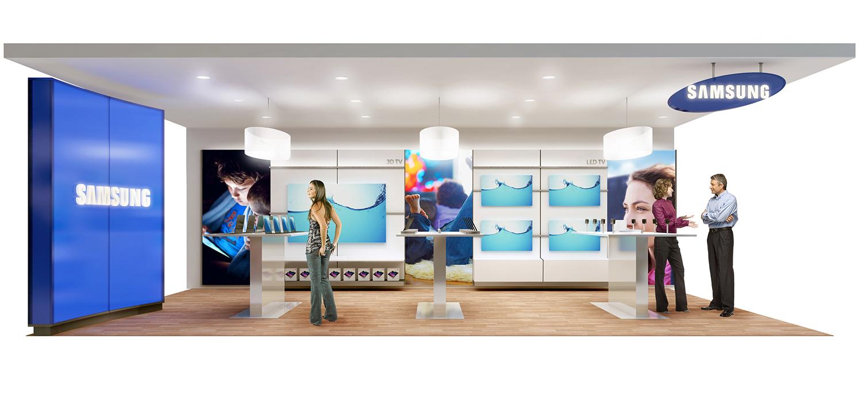 Samsung Retail Design Michael Kent Allen