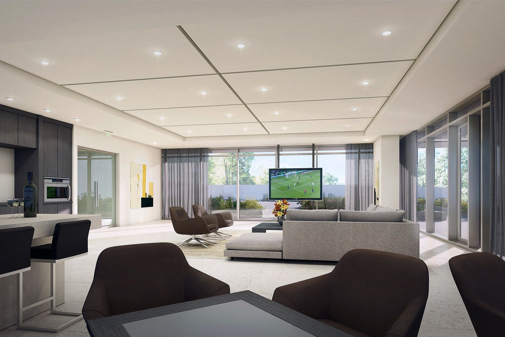 Burnaby Amenity Lounge