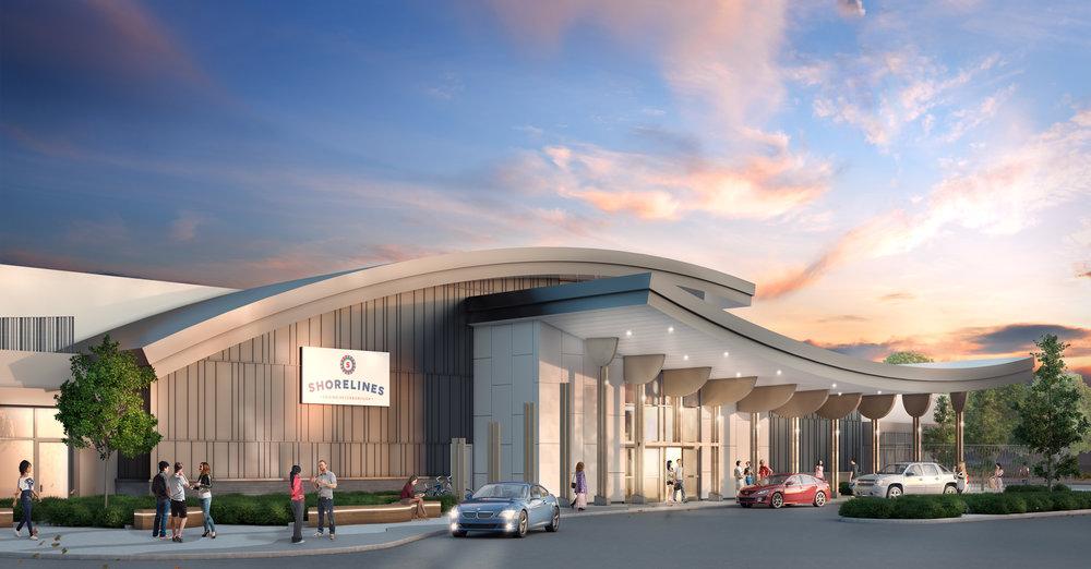 Peterborough Ontario Casino Shorelines Rendering