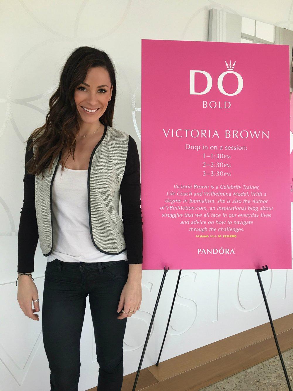 Motivational talk at Pandora Jewelry Headquarters