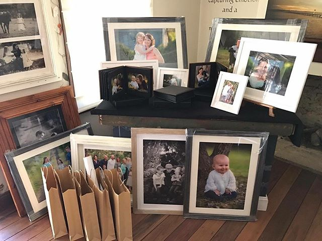 Busy time in the studio, lots of frames & albums going out ready for Christmas http://naturalfocus.com.au/portraits/