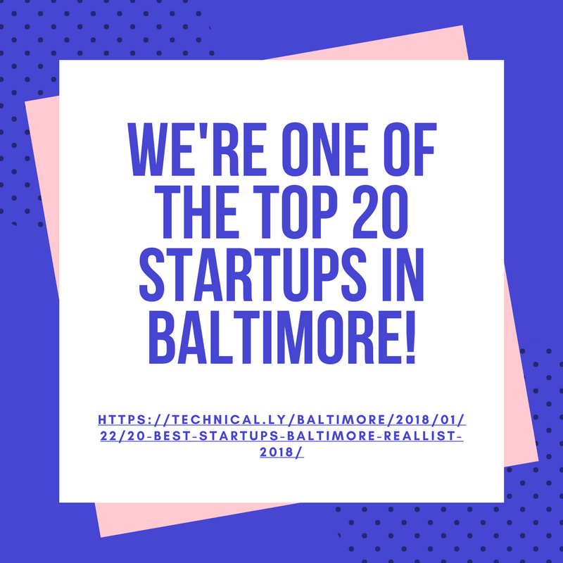 We're one of the top 20 startups in baltimore1.png