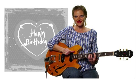 Send a sweet little birthday message from Zanna herself via MuZic CardZ!