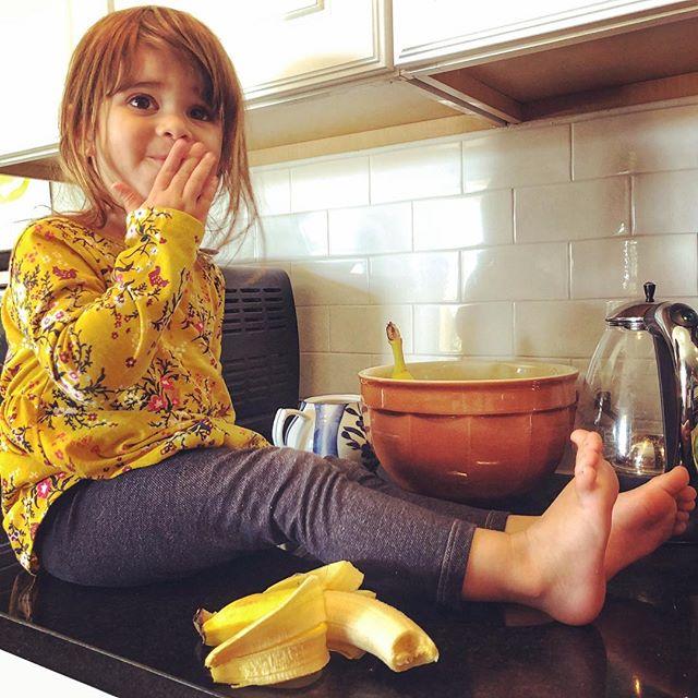 What banana? #monkeylulu #bananas #three