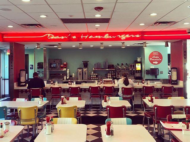I like my burgers nostalgic. #danshamburgers #austinfaves #tgif #lazyfriday