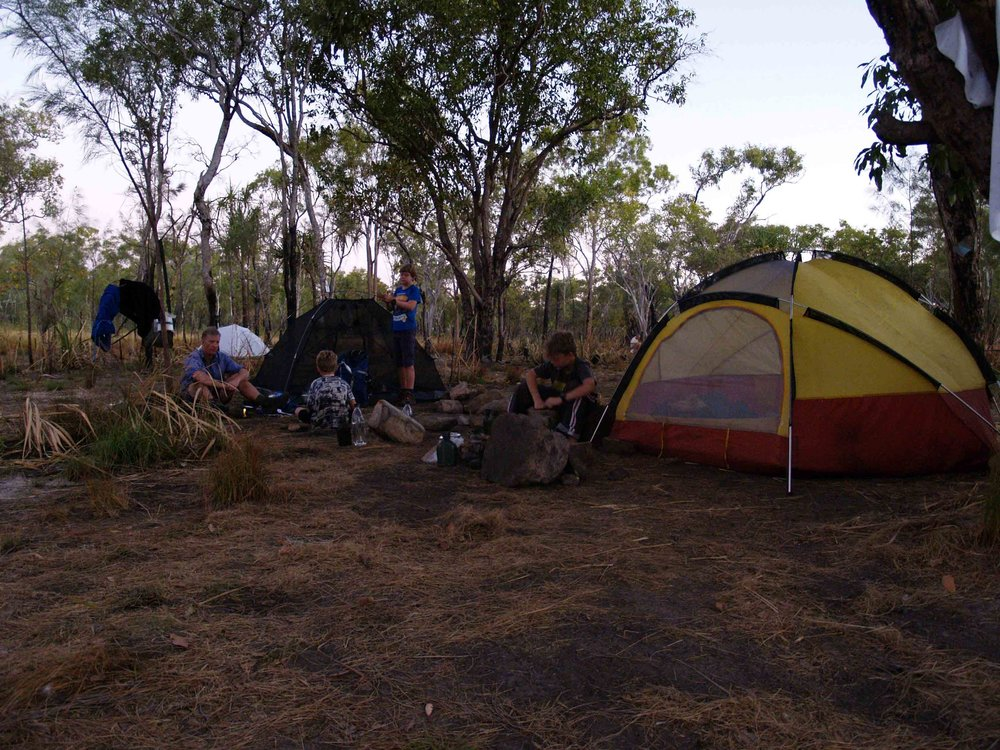 Biddlecombe Cascades campsite
