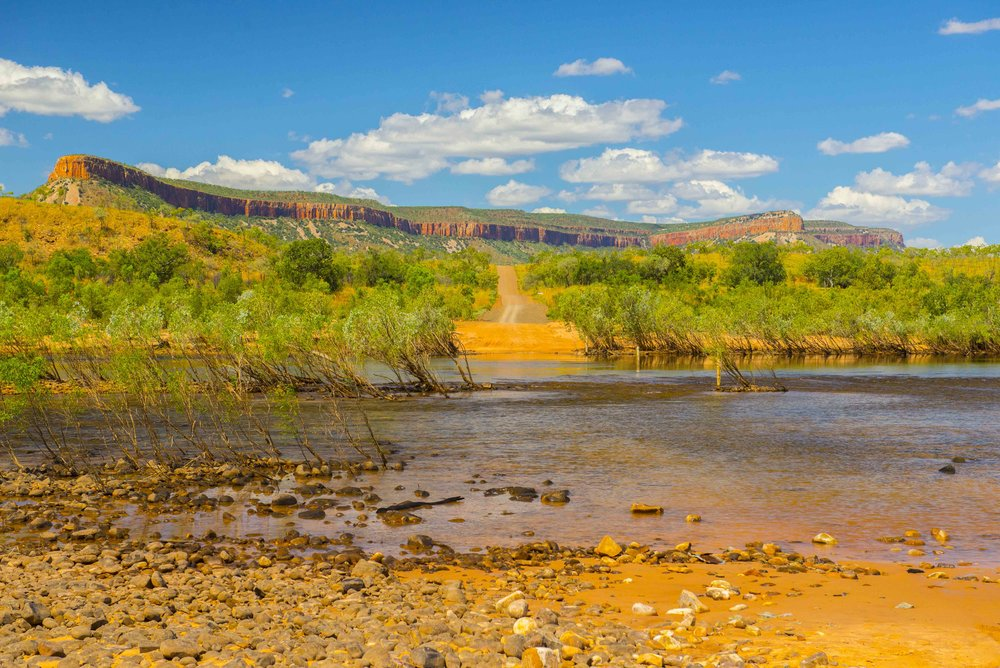 Crossing The Pentecost River. El Questro:Gibb River Road