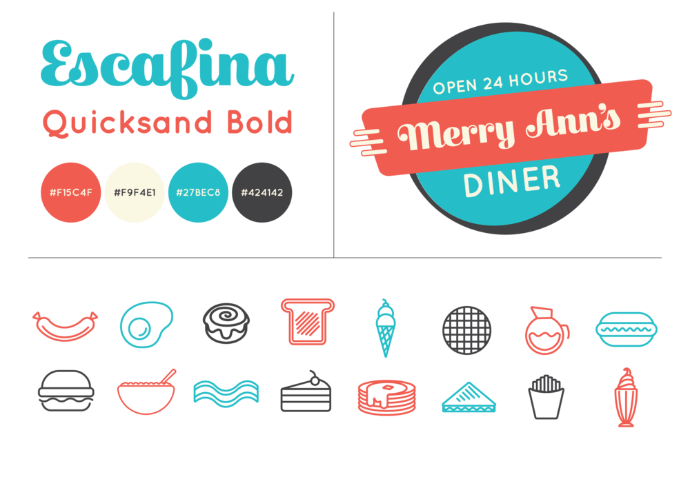 Merry Ann's Re-branding