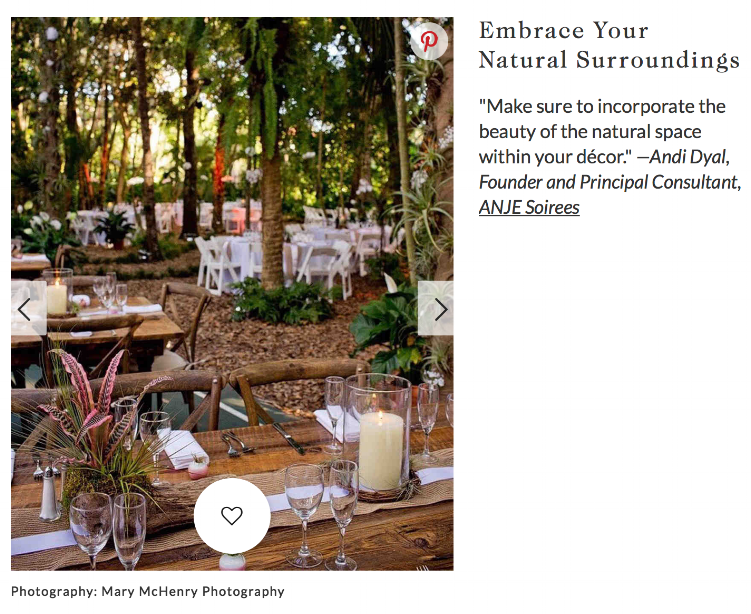 We shared our tips for outdoor engagement parties with Martha Stewart Weddings. Check it out!