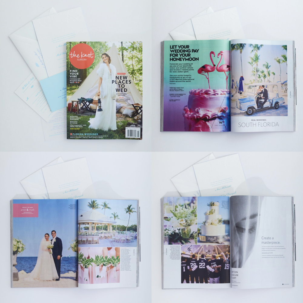 Check out our latest feature in The Knot Florida.