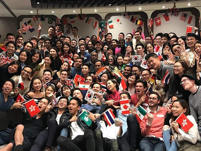 Celebrating diversity at international night #muSThaveMBA #MBaLife #TheWeekBeforeFinalExam #oneteam