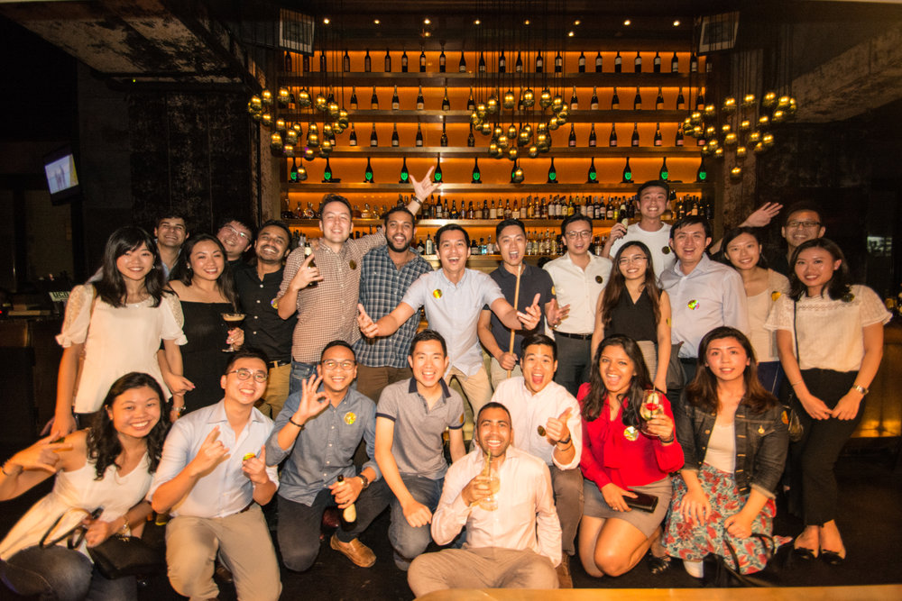Finance Society Mixer:  - October 11 - Finance Society held its first mixer between full-time and part-time members in Central, Hong Kong. It was a great night where members got to know each other over drinks, food and some pool!