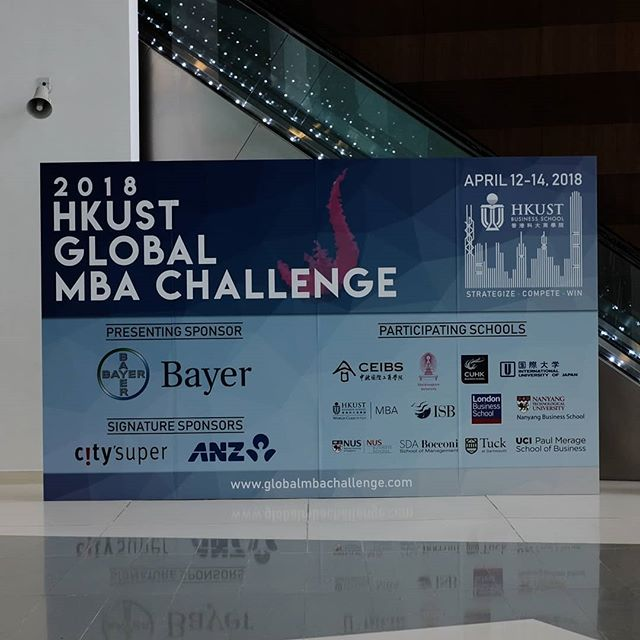 We hosted the 2018 HKUST Global MBA Challenge, where 14 talented MBA teams from London Business School, The Tuck School of Business at Dartmouth, National University of Singapore, Nanyang Business School, NTU, SDA Bocconi, China Europe International Business School (CEIBS), The Chinese University of Hong Kong, University of California, Irvine - The Paul Merage School of Business, Chulalongkorn University, International University of Japan and our very own HKUST Business School, competed on real-life business cases over 2 days. It was an exciting competition where innovative solutions were put forward. Congratulations to the overall winner from LBS!  Thank you to our judges and sponsors Bayer, City Super Limited and ANZ for supporting an incredible event. We hope you gained additional insights into your businesses and are able to apply some of the unique solutions provided by the teams.  The day @jillianeong told me she wanted to be part of the MBAA and Global MBA Challenge and Case Competition officer I knew she would be great for the role but it turns out she was perfect. She led an extremely successful event with the support of an incredible team. I could not be proudier of all of you. Thank you to Venisa Chu, her team, as well as Prof. Stephen Nason!  @calloke6 @dianadanli @nina_shen_0526 @tyant @dkeresteci @avkash279 @sudric87 @elvincbk @charlesnoopy @sunainagupta411 @prahladagarwal @lmanisha01  @ssssimmmm  @kevjazmines @rorrrrrrrrrry  #mUSThaveMBA #HKUST