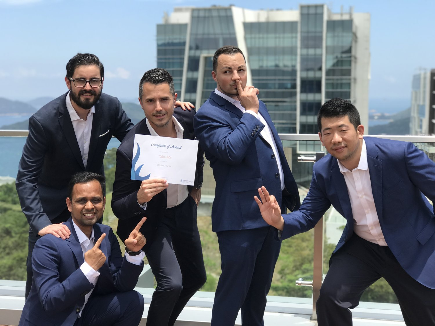 The Sales Club Wins Hkust Mba Club Of The Year Blog Hkust Mba