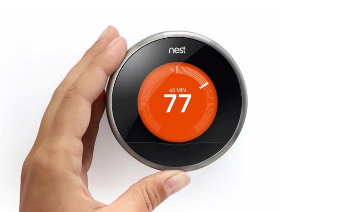 Nest thermostat connecté