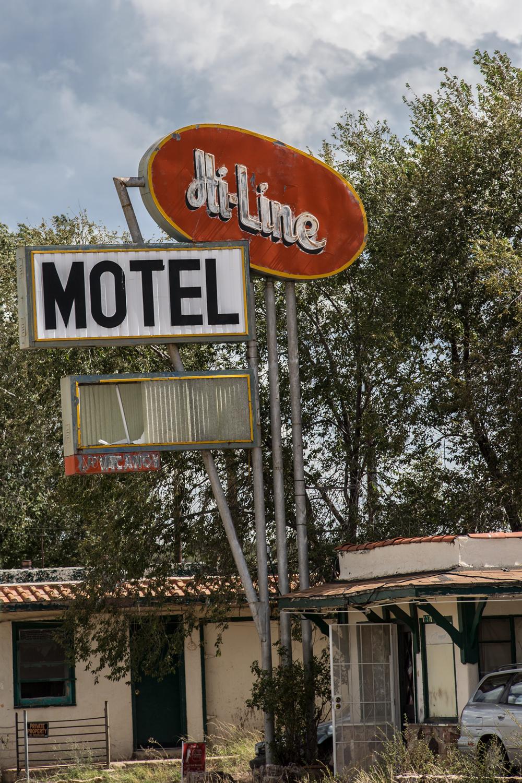 Abandoned Motel, Ash Fork.