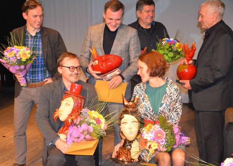 7-ojo Dalios Tamulevičiūtės profesionalių teatrų festivalio uždaryme pagerbti geriausi kūrėjai.