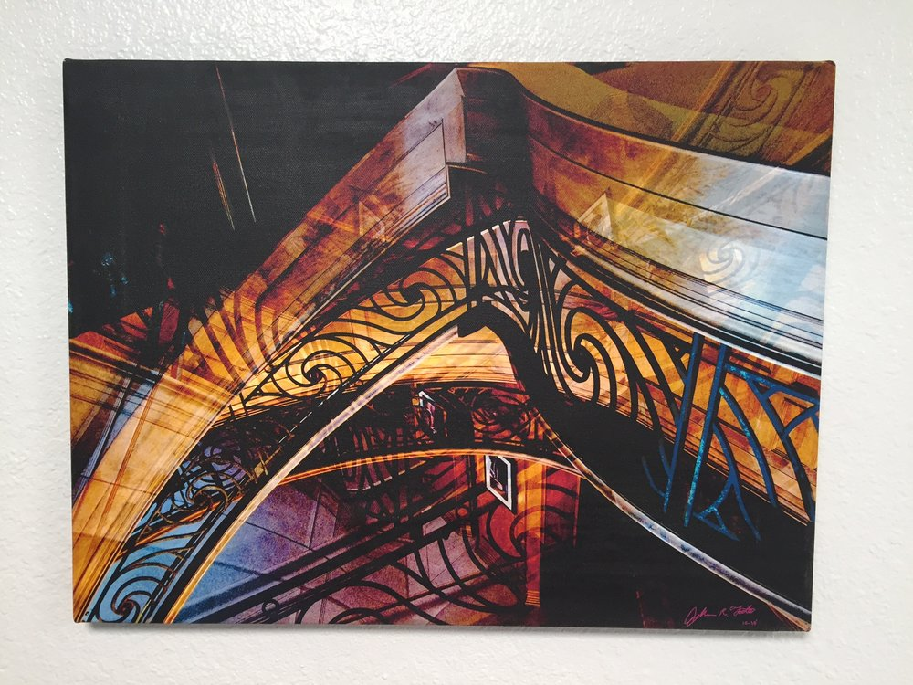 Foote fine art the symphony of time photo overlay portland oregon 2010 20x15canvas malvernweather Gallery